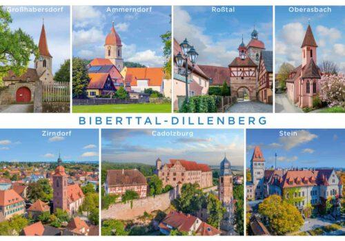 Urlaub im Biberttal: Hotels versenden Postkartengrüße aus der Kommunalen Allianz Biberttal-Dillenberg