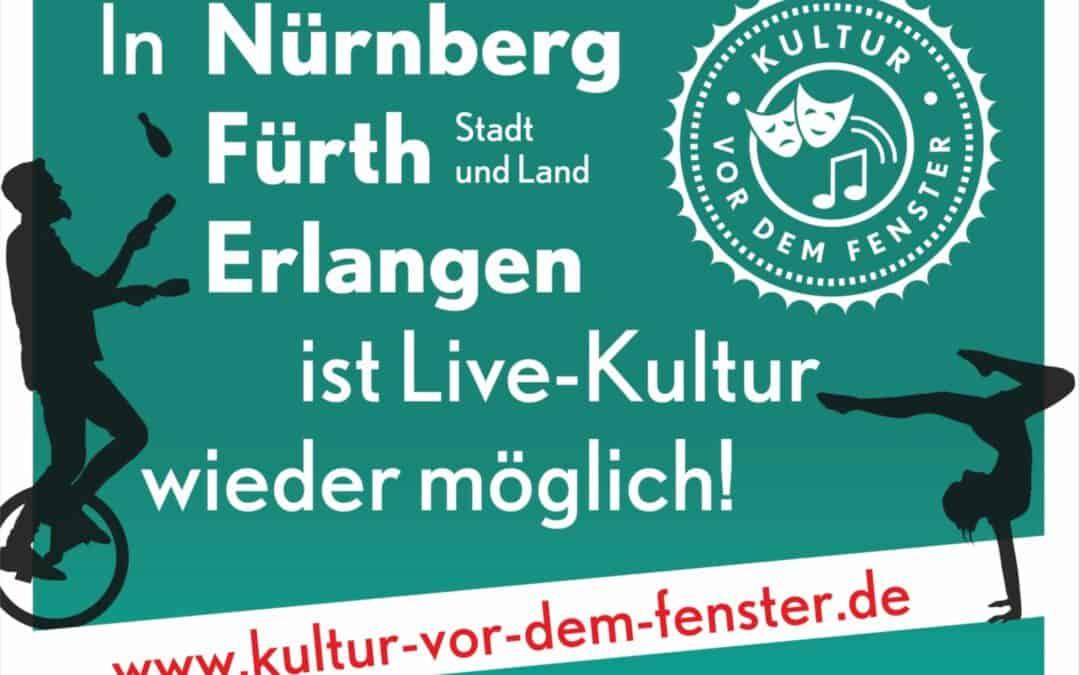 Kultur vor dem Fenster: Kommunale Allianz bietet auch 2021 Live‐Kultur vor Publikum