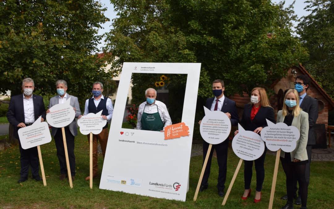 #heimatlandkreisfürth: Neue Kampagne verbindet die Menschen im Landkreis Fürth