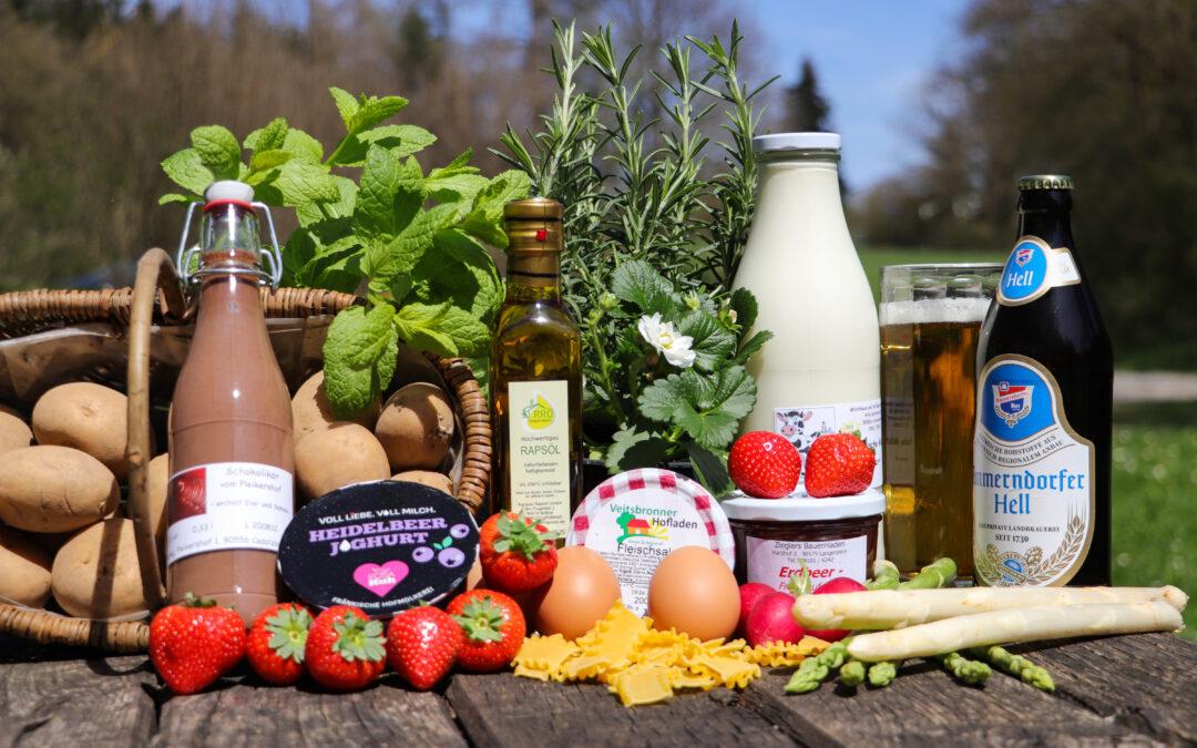 Mitmachen und Gewinnen: Das HofladenQuiz, bei dem es 20 Geschenkkörbe mit regionalen Produkten zu gewinnen gibt, startet am 15. Mai