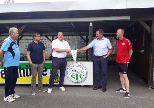 Jugendhütte am Sportgelände: TSV Cadolzburg konnte die Aufwertung mit Unterstützung des Regionalbudgets abschließen
